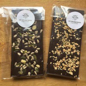 Exemples Tablettes Chocolat Noir